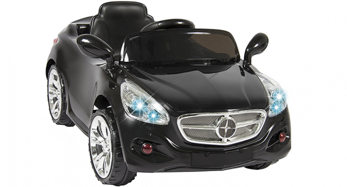 if you want your kid to experience driving a standard car then you might as well get a best choice ride on car with side mirrors headlights and a steering