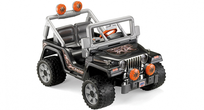 jeep wrangler has always been a cool vehicle which is why giving a smaller version of it to your kid would make him very happy