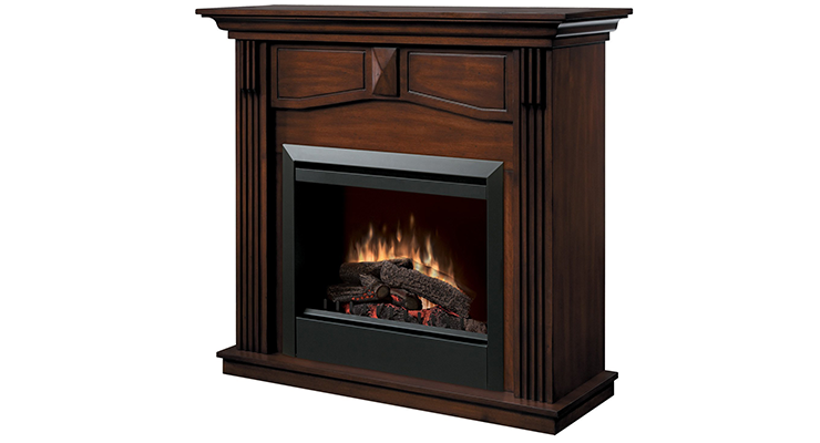 If Elegance Is What Youu0027re Looking For, The Dimplex Holbrook DFP4765BW  Traditional Electric Fireplace Mantle Is Your Best Option. The Beautiful  Mantle Comes ...